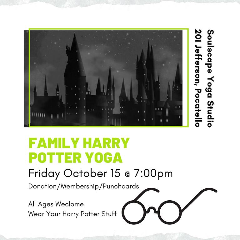 Harry Potter Family Yoga