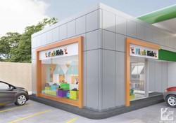 Reforma para criação de loja