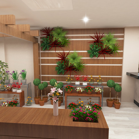 Floricultura e Cafeteria