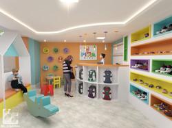 Loja de calçados infantis