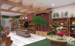 Cafeteria e Floricultura