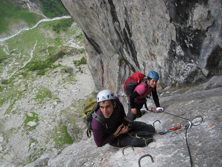 Spektakulärer Klettersteig