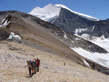 Höchste Wanderung in den Alpen