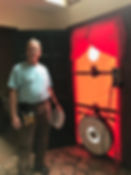On-Site with our Energy Auditor, Blower door test, Energy Audit, Home Energy Solutions Program CT, HES Program