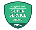 angies list super service reward 2016