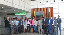 Colaboradores da ADM, E.P. em formação em Marketing Aeroportuário