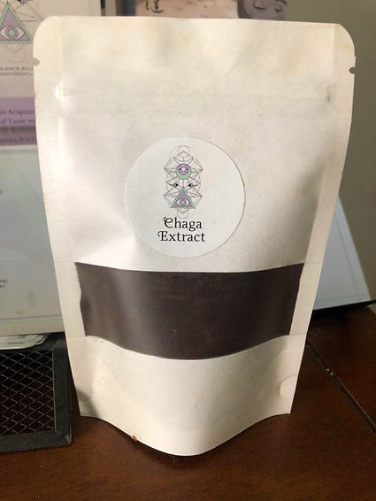 Chaga Extract - Sacred Silence Acupuncture