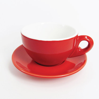 Latte Cup and Saucer Coffee Cup