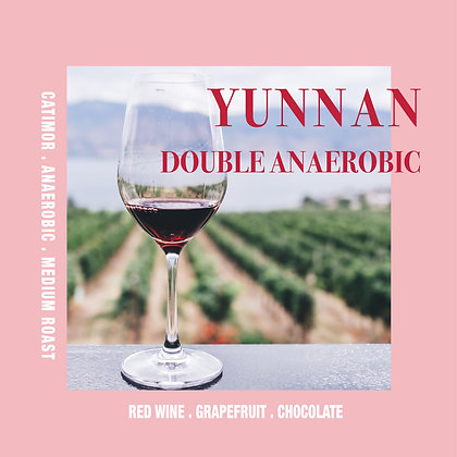 Yunnan Double Anaerobic Natural 200g/400g - Winery Chocolate Flavour