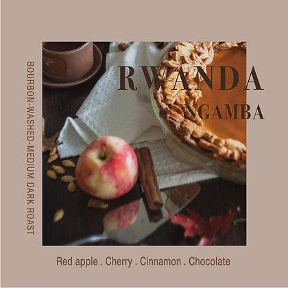Rwanda Ngamba Bourbon Washed - Medium Dark - 200g/400g