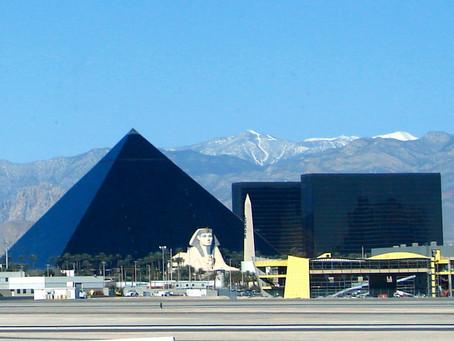 Pyramide Noire de LAS VEGAS (USA)