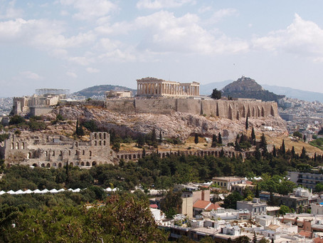 L'ACROPOLE d'ATHENES (GRE)