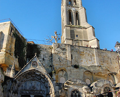 EGLISE MONOLITHIQUE de St EMILION (FRA)