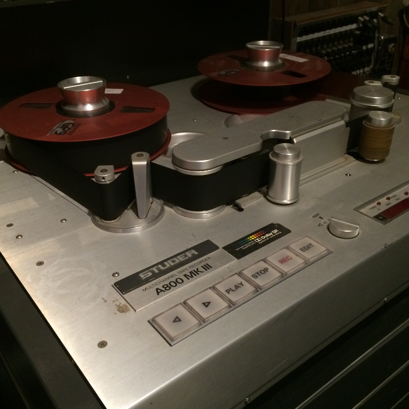 Two-inch Tape Recorder