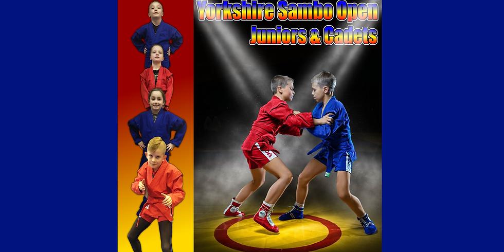 Yorkshire Junior Sambo Open 23rd Oct 2021