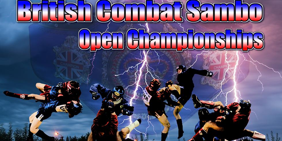 British Open Combat Sambo Championships 2020-21