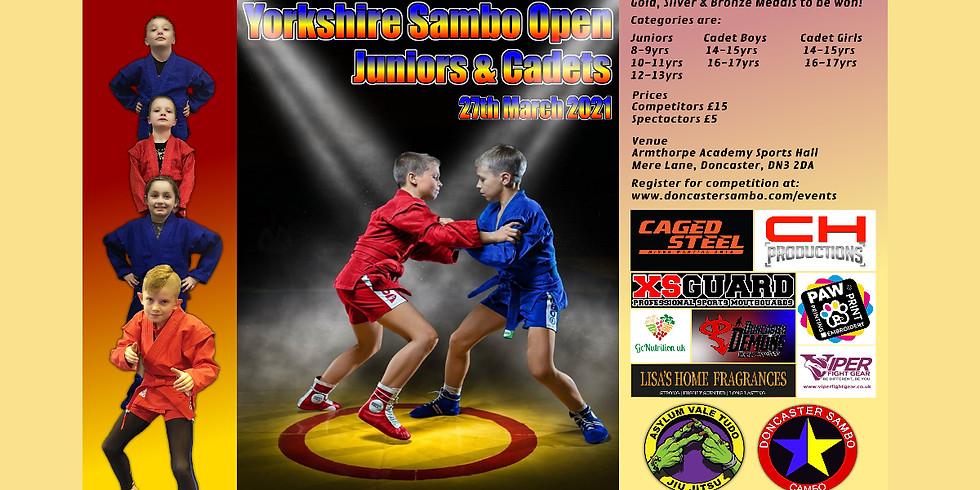 Yorkshire Sambo Open - Juniors & Cadets