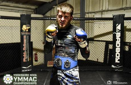 Ewan Liser Title Belt Taijutsu MMA