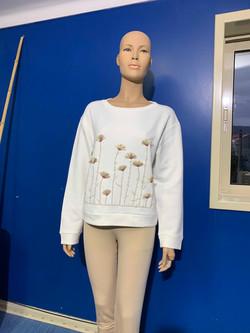Sweatshirt Women - 50%PA 49%CO 1%EA CARN
