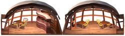 Wnętrze kopuły wielosezonowej