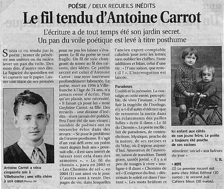 Le Progrès 13/11/2004