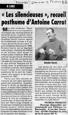 Le Progrès 2/02/2002