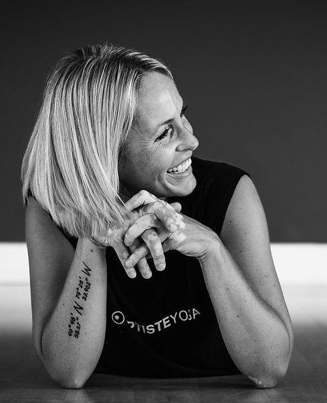 Allison Bogart, Baptiste Certifed Yoga Teacher at Vibe Yoga Loung in Cheste, NJ