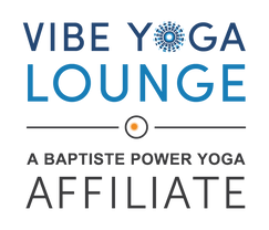 Vibe Yoga Lounge A Baptiste Power Yoga Affiliate Logo