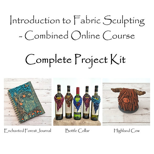Introduction to Fabric Sculpting - Online Workshop Kit