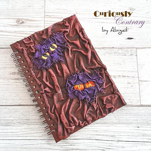 Monster Book - Burgundy & Purple
