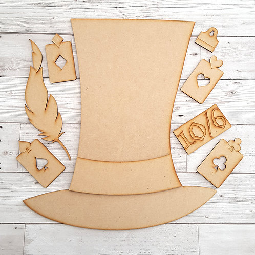 MDF Mad Hatters Hat Project Pack