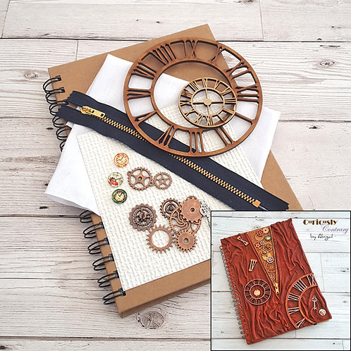 Steampunk Time - Journal Project Kit