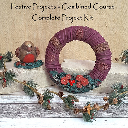 Festive Projects - Combined Course - Online Workshop Kit