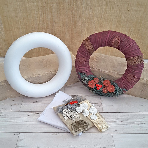 Festive Wreath Project Kit