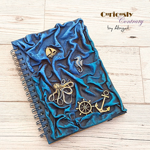 Sea Themed A6 Notebook