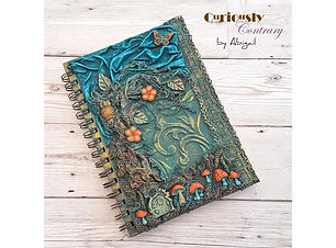 Enchanted Forest Journal Workshop by Cur