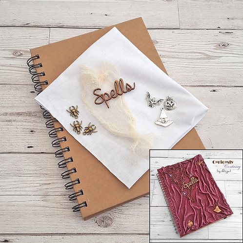 Witches & Wizards - Journal Project Kit