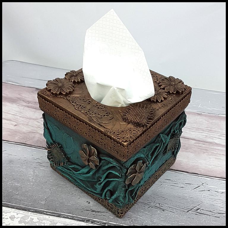 Tissue Box Holder Workshop