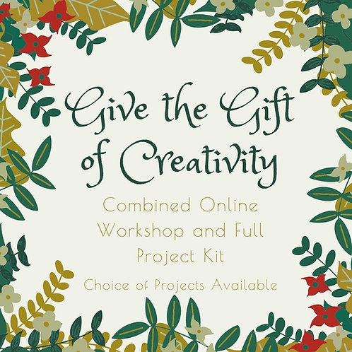 Gift of Creativity - Online Workshop with Kit