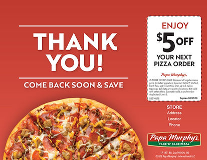 Papa Murphy_s - $5 off coupon _ thank yo