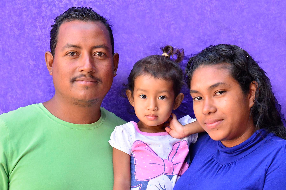 A displaced family in the Barretal Refugee Camp in Tijuana, Mexico. December, 2018. (Photo from The Power of Faces)