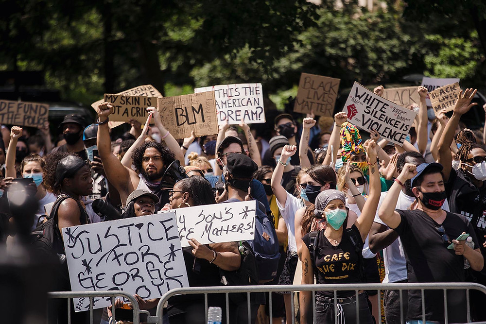A Black Lives Matter Protest. (Photo by Life Matters from Pexels)