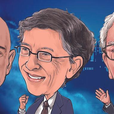 Jeff Bezos is Voldemort, Bill Gates is Harry Potter, and Warren Buffett is Dumbledore
