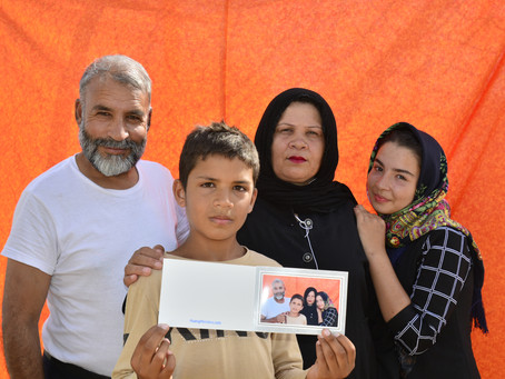 InfoMigrants - The Power of Faces, portraits of refugees show dignity