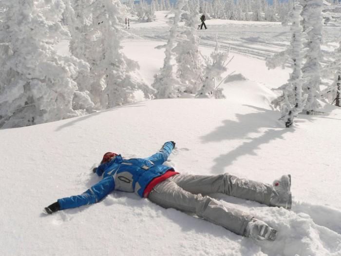 Отпуск зима открытки