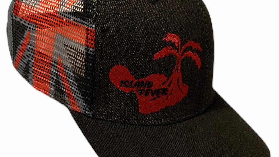 Island Fever Logo Hat/Hawaiian Flag