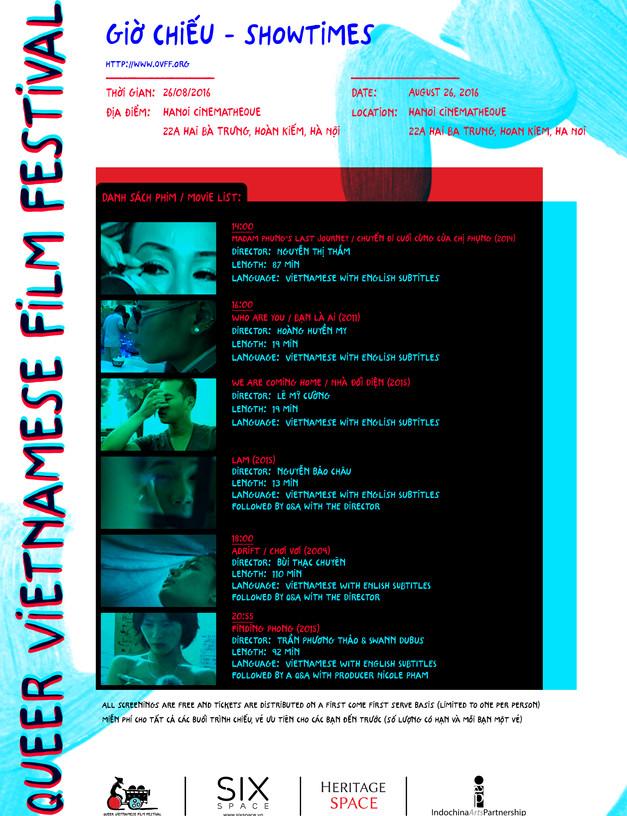 QVFF Day 1 - Cinematheque