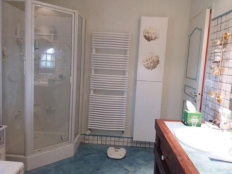 Photo avant travaux, Avant / Après, Conseil en agencement et aménagement d'une douche à l'italienne, dans une salle de bain, par l'architecte décorateur d'intérieur Mosser Intérieur Design à Toulon dans le Var