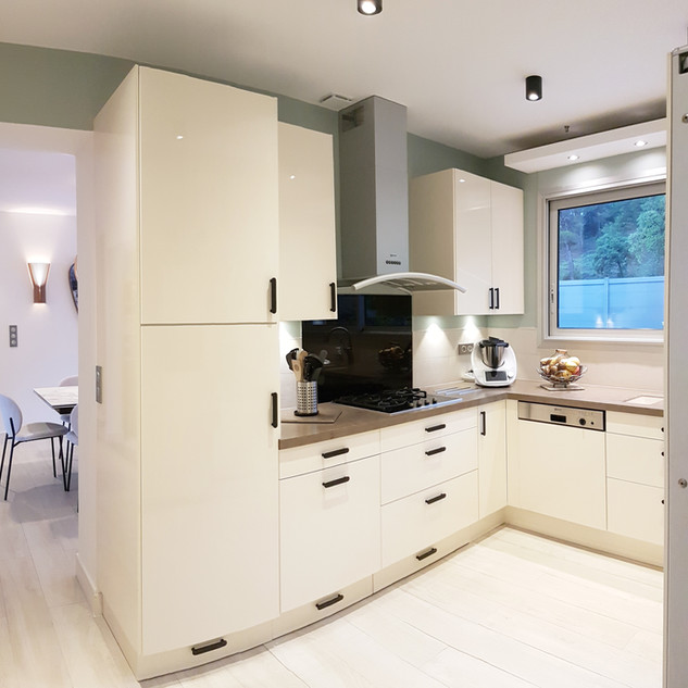 Rénovation d'une cuisine à La Londe Les Maures, agencement, aménagement et décoration d'intérieur Mosser Intérieur Design Var