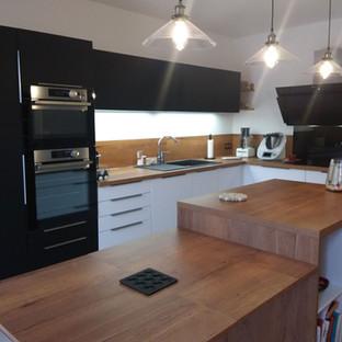 Aménagement agencement et décoration d'une cuisine moderne design par votre architecte d'intérieur Mosser Intérieur Design dans le Var
